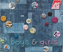 AS Creation Boys & Girls behangboek