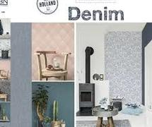 BN Wallcovering denim behangboek